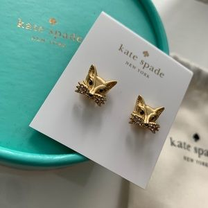Kate Spade Fox Earrings